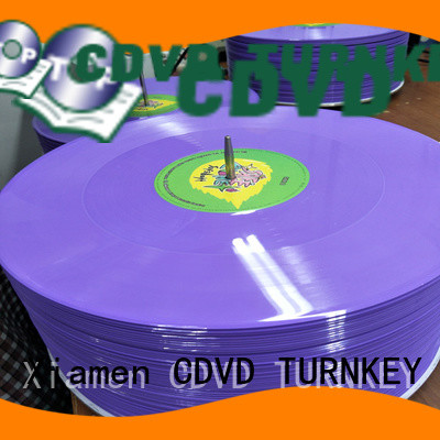 TURNKEY high-grade custom vinyl records directly sale for home