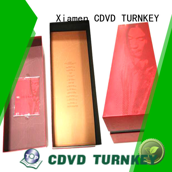 TURNKEY bottle wine gift box environmental protection for school