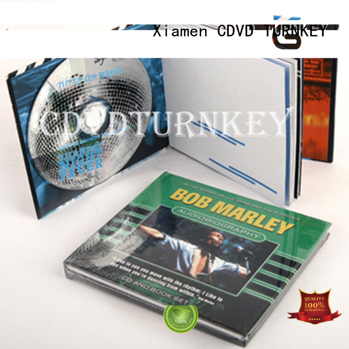 TURNKEY High-quality dvd book manufacturers refectory