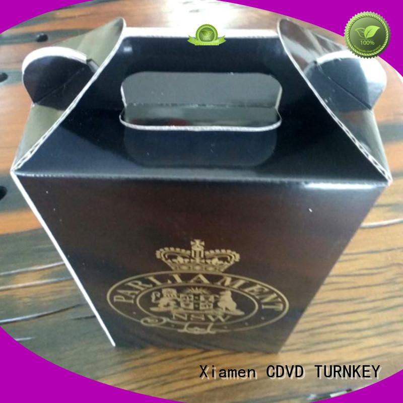 TURNKEY elegant wine box cardboard environmental protection for work