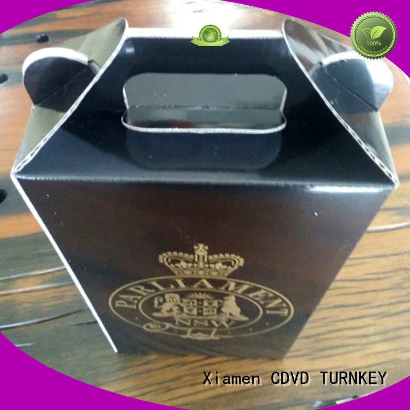TURNKEY elegant wine box cardboard environmental protection for work