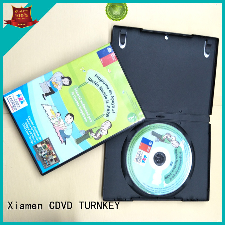 TURNKEY blackclear dvd case packaging supplier for factory buildings