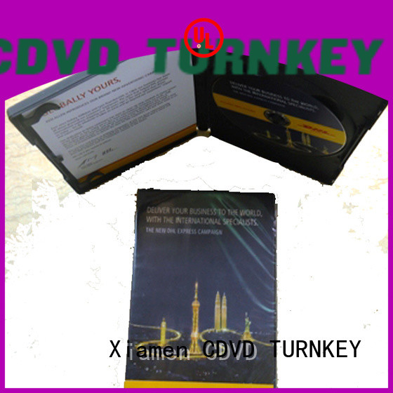 TURNKEY be PP cd case packaging factory price for factory buildings