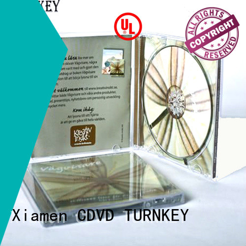 TURNKEY side cd slipcase box directly sale for factory buildings