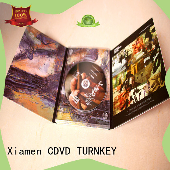 TURNKEY pratical cd digibook directly sale cd for computer