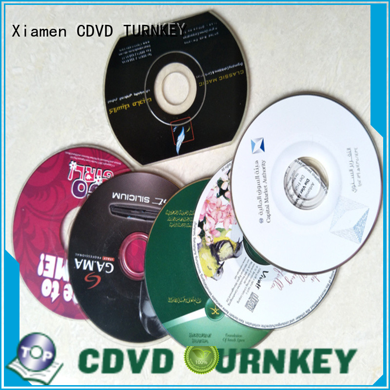 TURNKEY good quality cd dvd copy promotion dining-hall