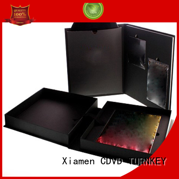 TURNKEY cd square box from China for person