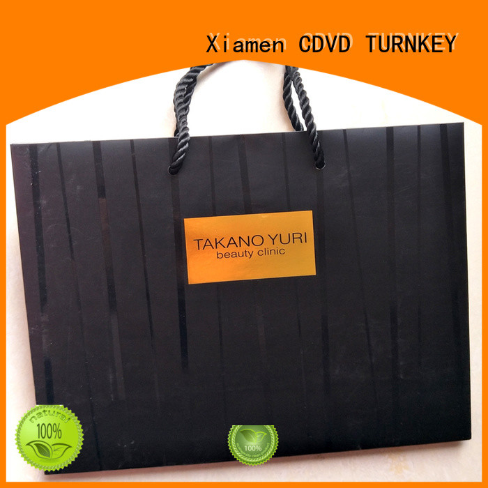 modern paper bags with handles directly sale for work
