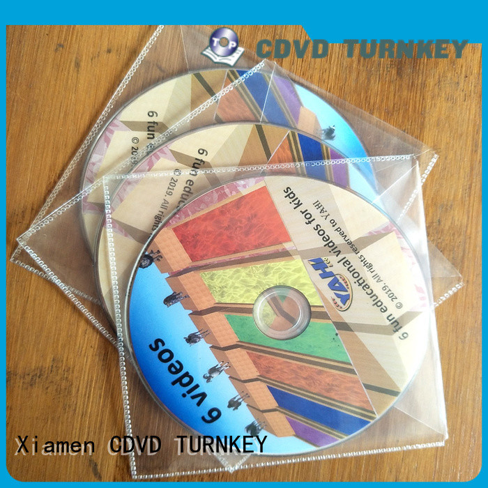 TURNKEY simple cd packaging directly sale for car