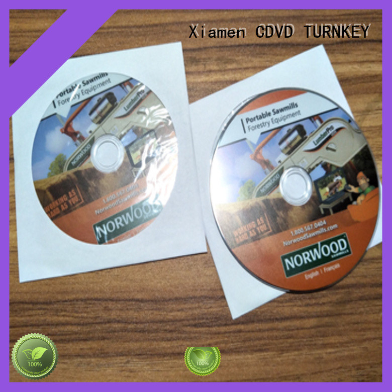 TURNKEY 80g100g dvd sleeves with good price for plaster