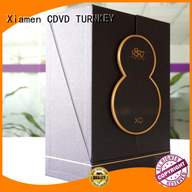 TURNKEY paper wine presentation box manufacturer for daily life