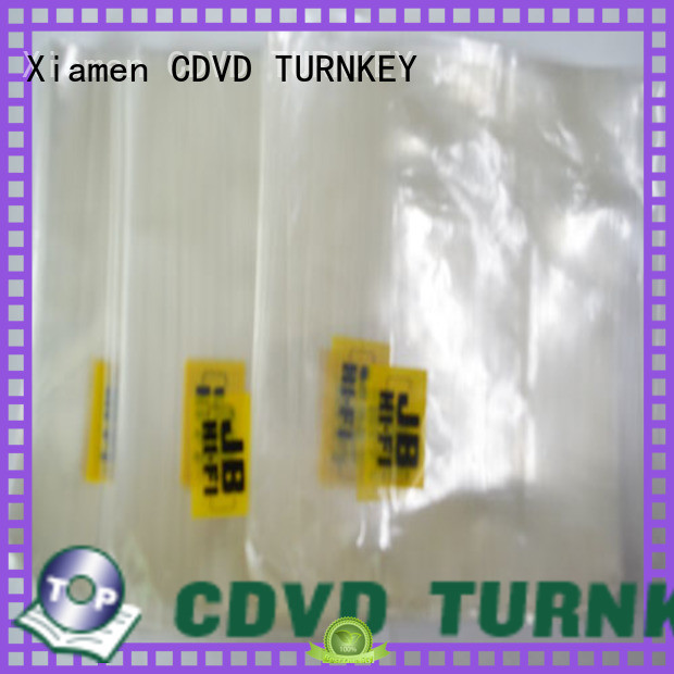 TURNKEY flap dvd paper sleeves directly sale for construction site
