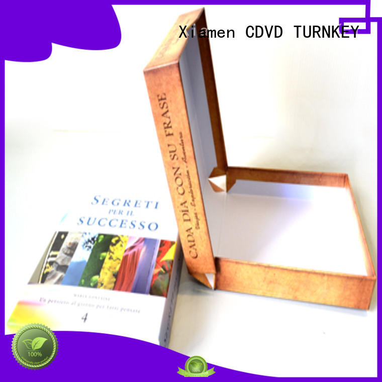 TURNKEY Top clamshell book box manufacturers for school