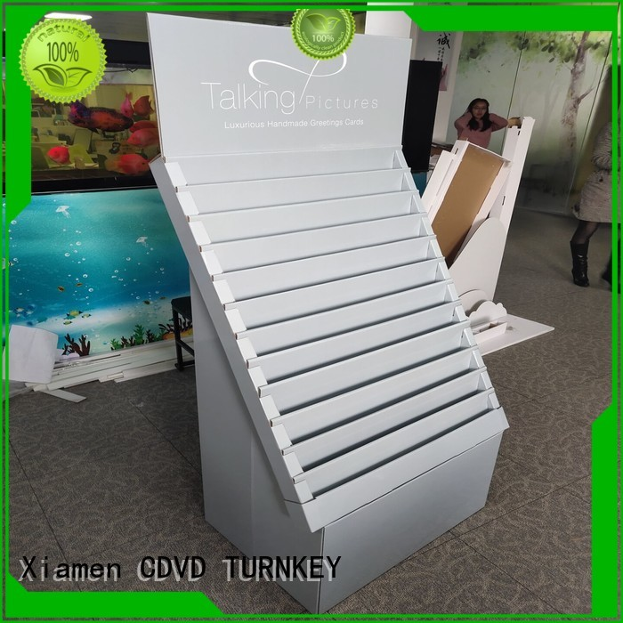TURNKEY pratical cardboard display boxes environmental protection for air port