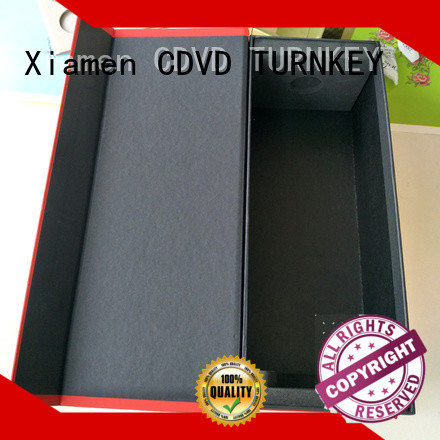 TURNKEY flocking wine box cardboard directly sale for work