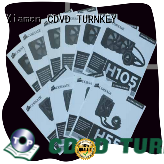 TURNKEY custom printed hang tags transfer services for hotel