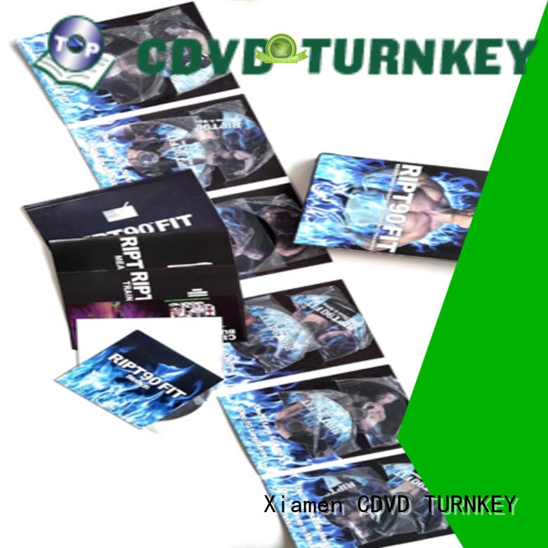 Latest cd dvd retail box sets factory buffet restaurant