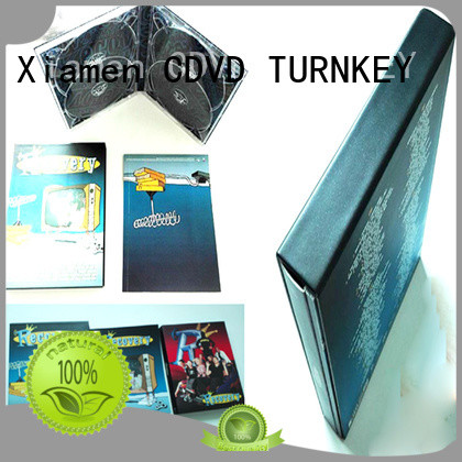 TURNKEY satisfactory CD hardboard box promotion for video