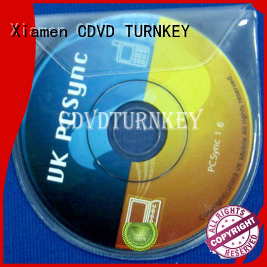 TURNKEY New dvd plastic sleeves company for mortar