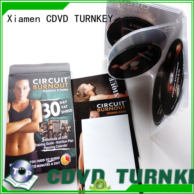 TURNKEY fitness dvd box set manufacturer buffet