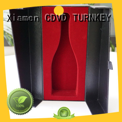 TURNKEY high-quality wine presentation box environmental protection for work