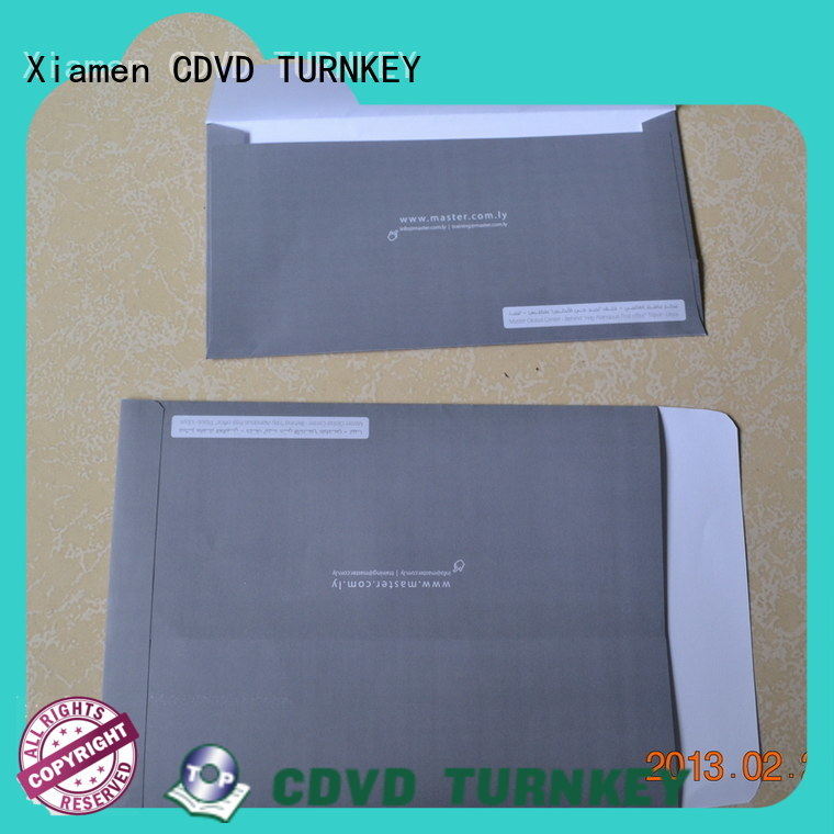 TURNKEY by craft paper envelopes Supply for hotel