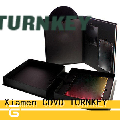 TURNKEY display CD hardboard box from China for school