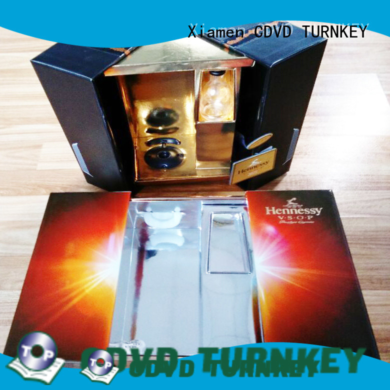 TURNKEY Wholesale wine presentation box for business for work