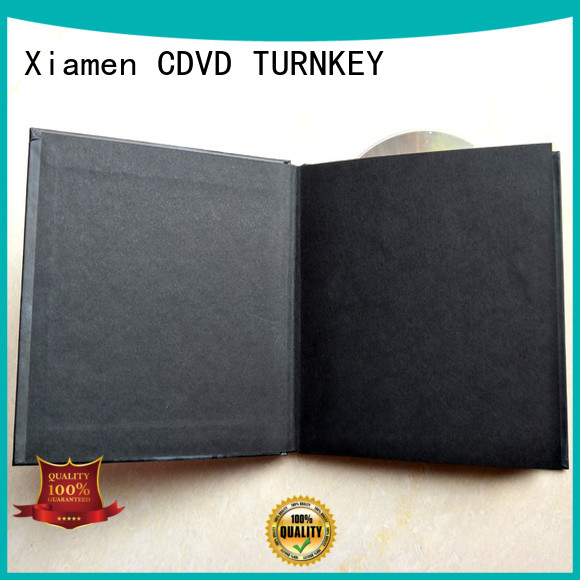 TURNKEY packaging dvd book promotion dining room