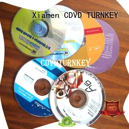 TURNKEY Latest dvd replication for business dining room