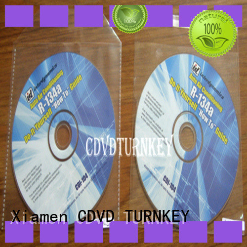 TURNKEY tape cd sleeves factory sale for plant