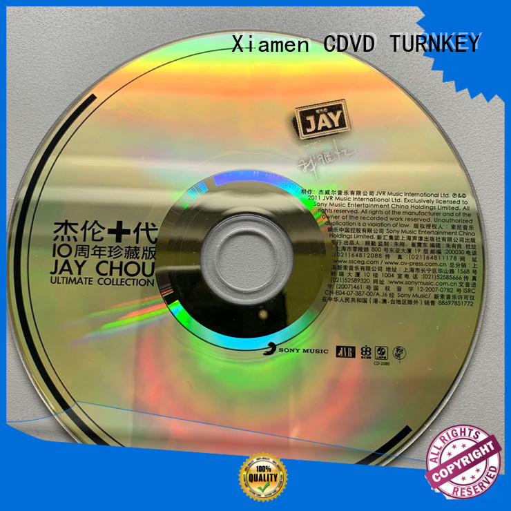 good quality cd printing wholesale suppliers for bands
