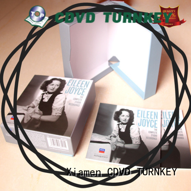 Latest Customized cd box for business for person