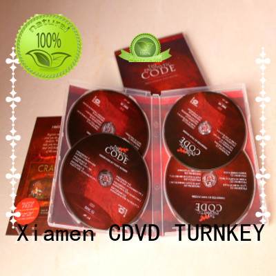 TURNKEY jewel dvd slipcase box factory price for industrial buildings