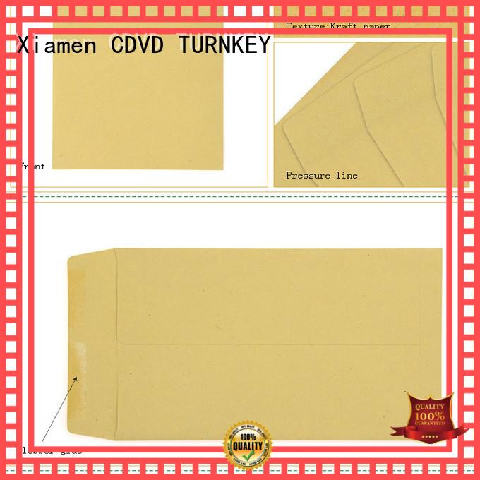 modern design brown kraft envelopes printed directly sale for hotel