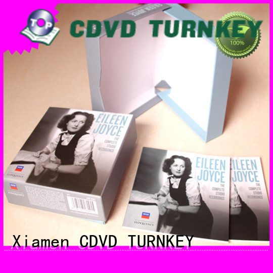 TURNKEY stronger CD hardboard box size for school