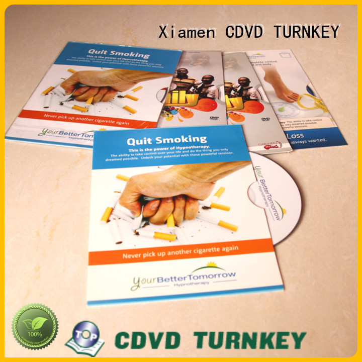 TURNKEY good price dvd cardboard sleeve advanced technology for factory buildings