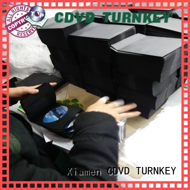 TURNKEY high-quality cd plastic sleeve with good price for plaster