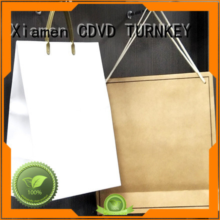 TURNKEY paper bags with handles manufacturer for daily life