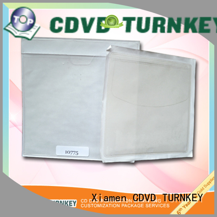 TURNKEY no plastic cd sleeves online for water conservancy