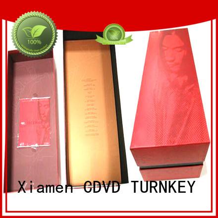 TURNKEY Custom wine box cardboard Supply for work