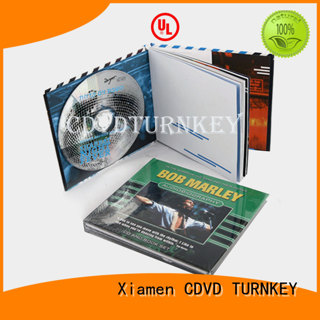 TURNKEY cd dvd holder book promotion dining room