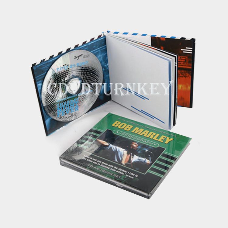 Cd dvd book