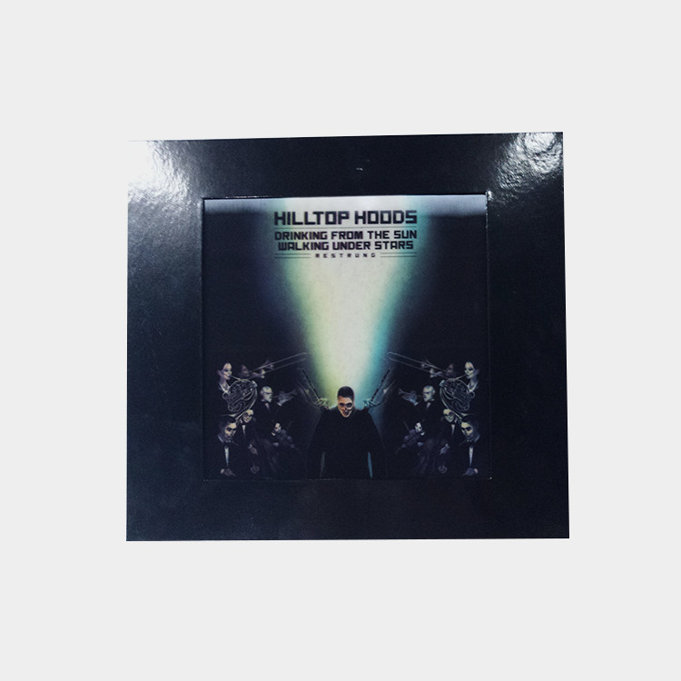 Lenticular LP Vinyl Record Box Set with Album