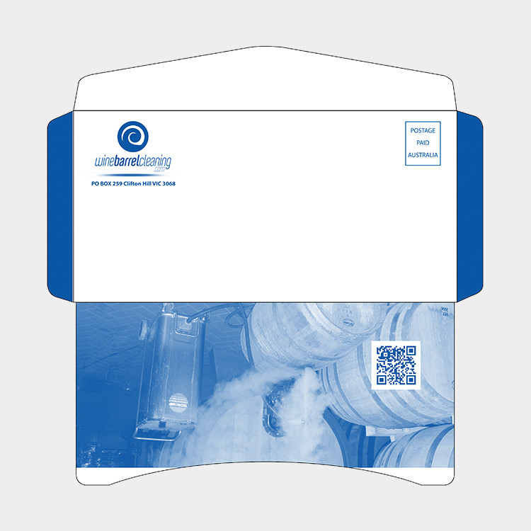 120g printed envelope