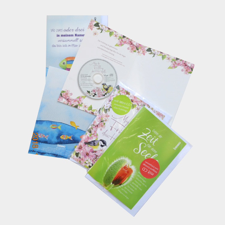 CD greeting card