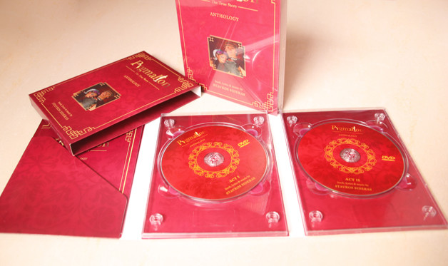 4 panel dvd digipak with or without pocket to hold booklet