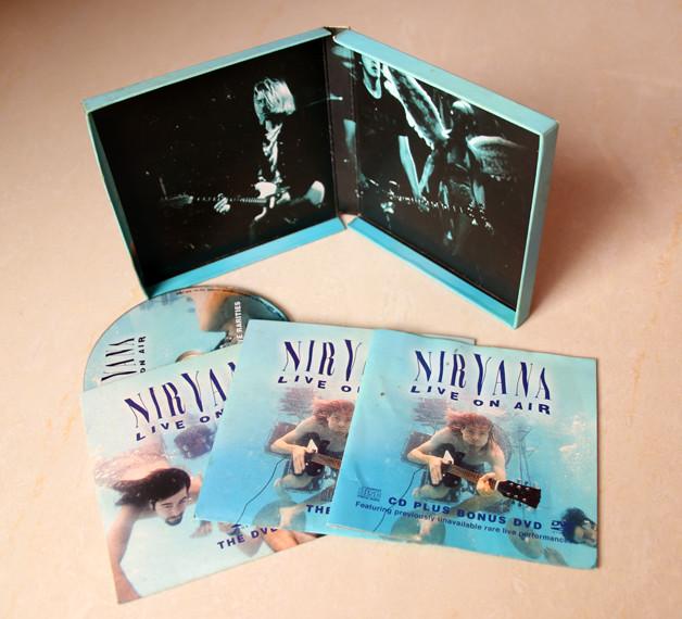 C-shell box stytle cd dvd box set
