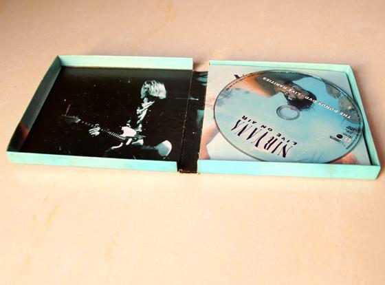 Custom C-shell box stytle cd dvd box Factory From China