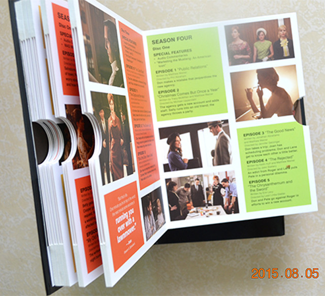multi blu-ray Book stytle and slipcase box